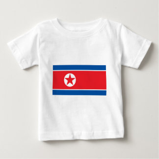 2000px-Flag_of_North_Korea Baby T-Shirt