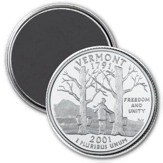 2001 Vermont State Quarter magnet