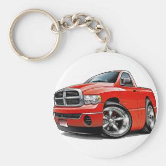 2003-08 Dodge Ram Red Truck Key Ring