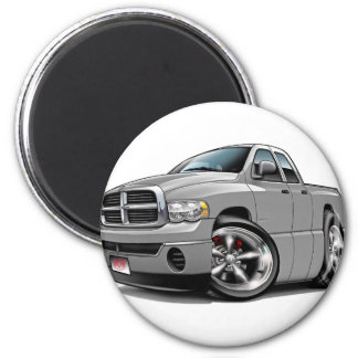 2003-08 Ram Quad Silver Truck Magnet