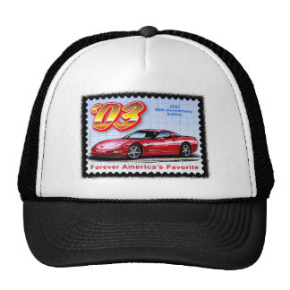 2003 50th Anniversary Corvette Cap