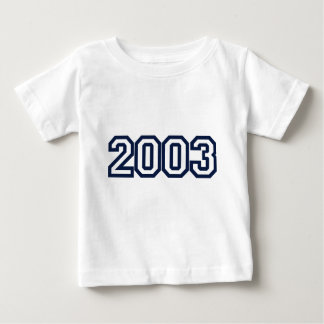 2003 birth year t shirt