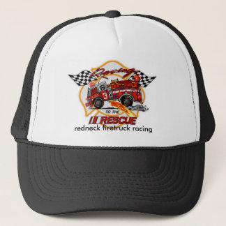 20040223043329_Photo2, redneck firetruck racing Trucker Hat