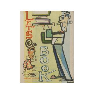 2004 Children's Book Week Wood Poster