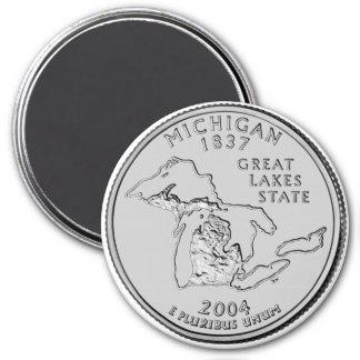2004 Michigan State Quarter magnet
