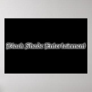 2005 Black Shade Entertainment Poster