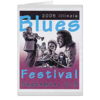 2005 Blues Concert Poster Project Card