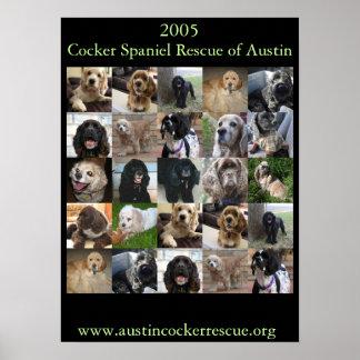 2005 Cocker Spaniel Rescue Poster