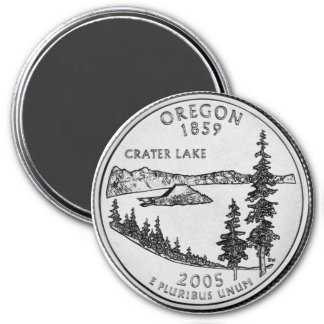 2005 Oregon State Quarter magnet