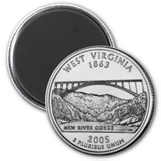 2005 West Virginia State Quarter magnet