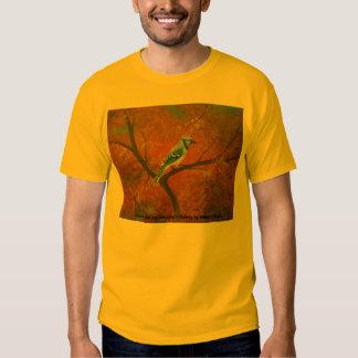 2006-046 Bluejay in the Autumn 16x20 canvas, Au... Tshirts