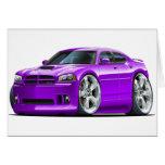 2006-10 Charger SRT8 Purple Car Cards