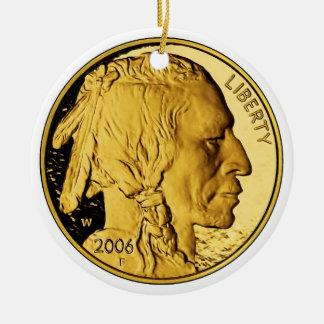 2006 American Buffalo Proof Gold Bullion Coin Christmas Tree Ornament