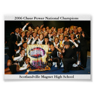 2006 Cheer Power National Champions Poster