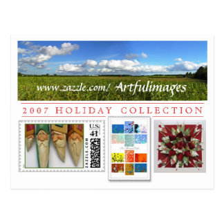 2007 Holiday Collection Campaign Post Cards