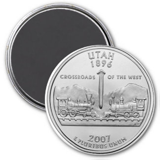 2007 Utah State Quarter magnet