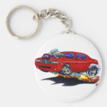 2008-10 Challenger Maroon Car Key Chains