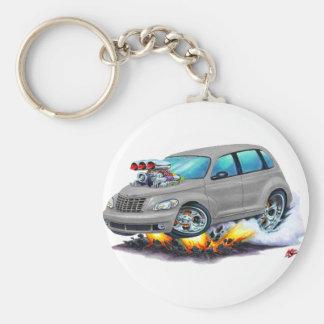 2008-10 PT Cruiser Grey Car Key Ring