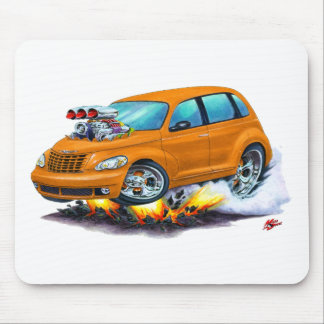 2008-10 PT Cruiser Orange Car Mouse Pad