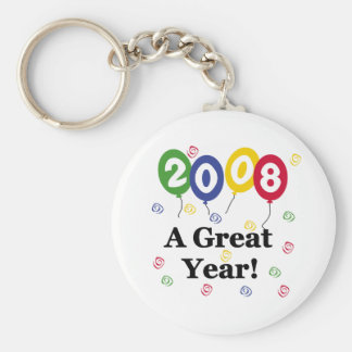 2008 A Great Year Birthday Keychains