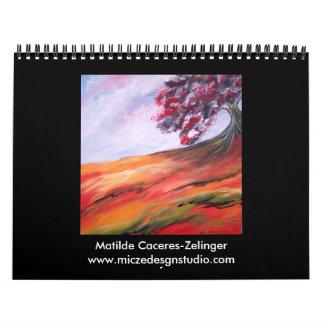 2008 Calendar-Modern Fine Art Wall Calendars