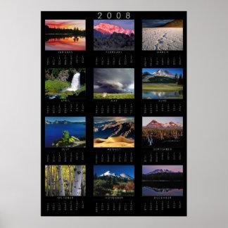 2008 Calendar Poster