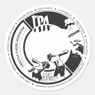 2008 Design Award [Stickers] Classic Round Sticker