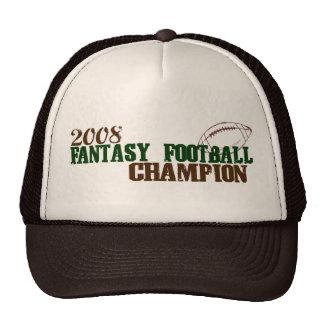 2008 Fantasy Football Champ Hat