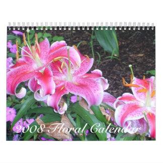 2008 Flowers in Bloom Calendar