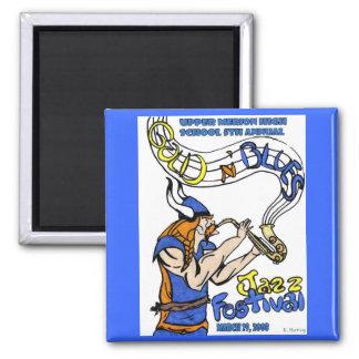2008 Gold 'n Blues magnet
