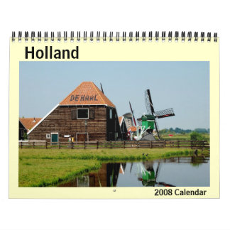 2008 Holland Photo Calendar
