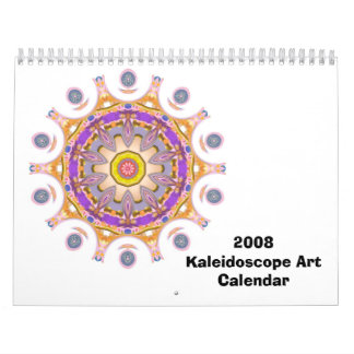2008 Kaleidoscope Art Calendar