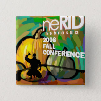 2008 neRID Fall Conference 15 Cm Square Badge
