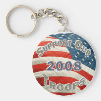 2008 Support Our Troops Keychain