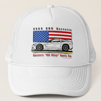 2008 Z06 Corvette Baseball / Trucker Cap