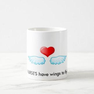 2009111418528, NURSE'S have wings to fly! Coffee Mug