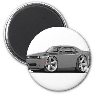 2009-11 Challenger RT Grey-Black Car Magnet