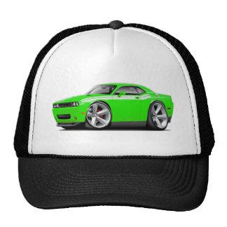 2009-11 Challenger RT Lime-White Car Cap