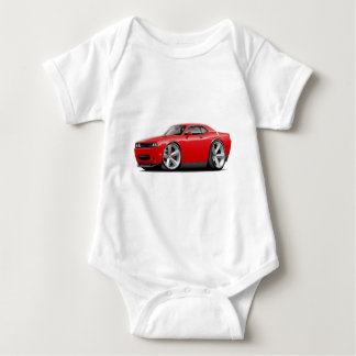 2009-11 Challenger RT Red Car Baby Bodysuit