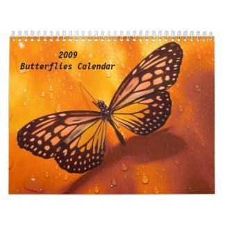 2009 Butterflies Calendar