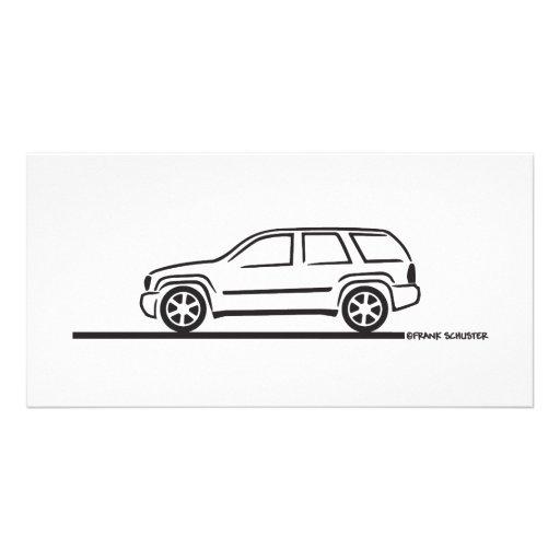 2009 Chevy Trailblazer SS Picture Card
