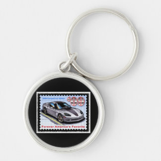 2009 Competition  Edition Corvette Key Ring