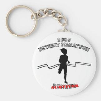2009 Detroit Marathon Keychain