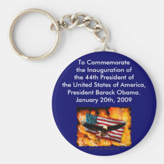 2009 Inauguration Commemorative Collection Key Ring
