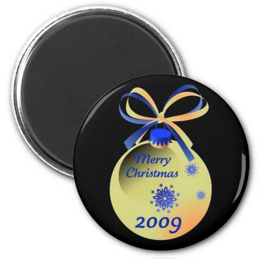 2009 Ornament Merry Christmas Magnet