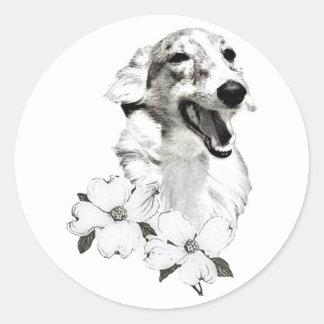 2009 Silkenfest logo sticker