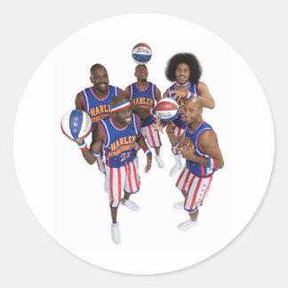 2009 Stars group Classic Round Sticker