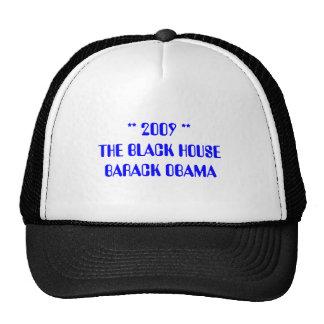 2009 THE BLACK HOUSE BARACK OBAMA TRUCKER HATS