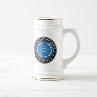 [200] CG: Chief Warrant Officer 4 (CWO4) Beer Stein