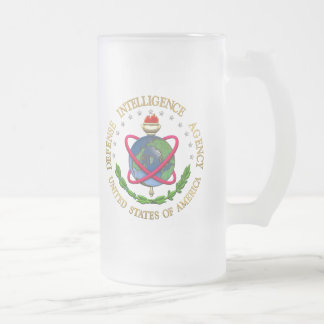 [200] Defense Intelligence Agency: DIA Special Edn Frosted Glass Beer Mug